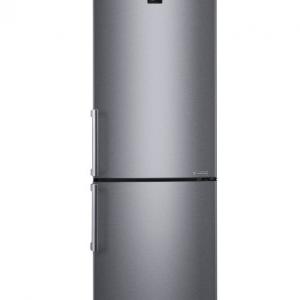 Серый холодильник LG