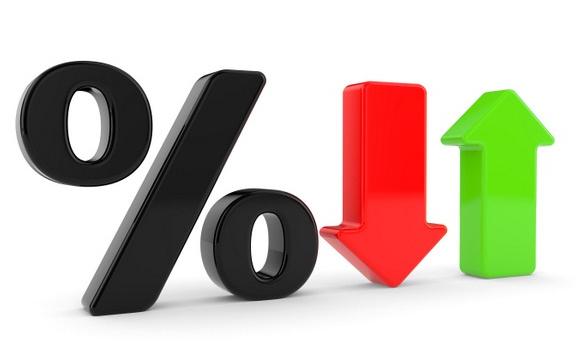 Рисунок процентной ставки