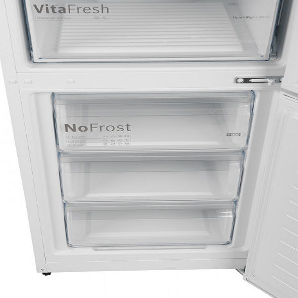 Купить в кредит двухкамерный холодильник BOSCH KGN39UW306